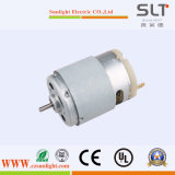 Driving Electric Micro Brush DC Motor with Adjusted Speed