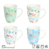 Colorful Butterfly Decal Household 12oz Mug