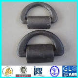 5t Forged Container Lashing D Ring with Bracket
