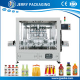 Automatic Pet & Glass Bottled Bottle Bottling Juice Liquid Filling Machine