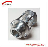 Sanitary Stainless Steel Straight Pipeline Sight Glass