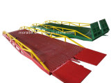 8t Mobile Warehouse Loading Ramp Yard Leveler for Sale