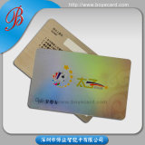 Laser Foil Overlay Laminated PVC Anti-Counterfeit Card