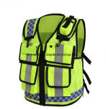 Eniso20471certificate High Visibility Safety Reflective Vest Hongkong Police
