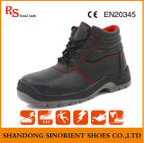 Middle Cut Industrial Safety Shoes Genuine Leather Safety Boots Price