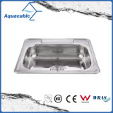 Single Bowl Stainless Steel Moduled Kitchen Sink (ACS-2522)
