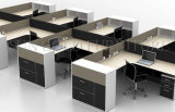 Workstation with Vice Cabinet, Popular and Durable Modular Desk (SZ-WS177)