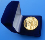 Bronze Coin, Copper Coin With Velvet Box Packaging (ASNYC-13)