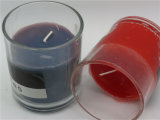 Glass Jar Candle with Scent for Party Home Use
