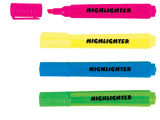 4 Color Highlighter Marker Pen (XL-2032)