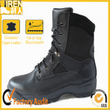 New Design Genuine Cow Leather Military Police Boots