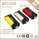 New Arrival Golden Color Portable Battery Jumper Starter