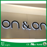 Waterproof 3D LED Custom Wall Sign Logo for Advertising