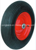 16inch 4.00-8 Linear Pattern Pneumatic Wheel for Wheelbarrow