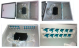 "Sc/FC/St Standard 19"" 8 Cores Sc Port Fiber Optic Patch Panel (ODF)"