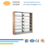 Factory Supply School Furniture Wholesale Metal Library Book Shelf
