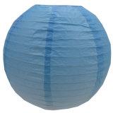 Blue Gradient Round Paper Lanterns