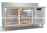 Refrigeration Cabinet with Display Shelves