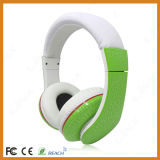 Green Noise Cancelling Headsets DJ Headphones