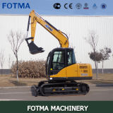 XCMG Xe80c Cheap Compact Middle Size Excavator