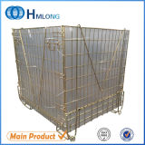 Stackable Foldable Wire Mesh Pallet Cage Metal Bin