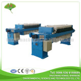Plate and Frame Sludge Filter Press for Wastewater Treatment