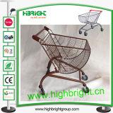 Powder Coating Stylish Shopping Trolley Cart