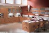 Guanjia Kitchen MDF Melamine Faced Kitchen Design