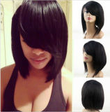 Wholesale Price Virgin Peruvian Human Hair Glueless Full Lace Wig Bob Wig