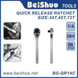 Long Lifespan Quick-Release Offset Ratchet Wrench Hand Tools