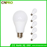 Cheap E27 /E26/ B22 Plastic + Aluminum 5W LED Light Bulb