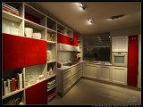 White 2PAC Kitchen Cabinet #Wb-J02, White Lacquer Kitchen (WB-J02)