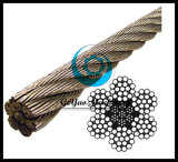 0.2-52mm Diameter Stainless Steel 6*19 Iwrc Wire Rope