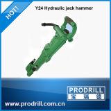 Hand-Held Pneumatic Rock Drill Hammer Y24 Y26 Yt28