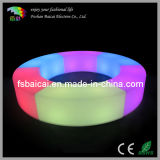 Outdoor LED Lights Round Lounge Chairs
