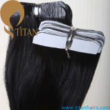 Unprocessed 24inch Natural Black Tape Hair Extension