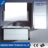 New Waterproof PVC Bathroom Washbasin Cabinet with Side Cabinet