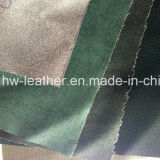 0.3mm Thickness Jacket PU Synthetic Leather Hw-754