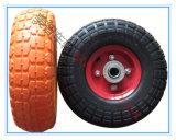 10X3.5-4 PU Foamed Wheel Tyre / PU Foam Cart Wheel