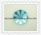 Round Flatt Back Glass Bead (DZ-NEW-021)