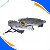 4 Wheels Steel Airport Baggage Luggage Tow Cargo Dolly Trailer
