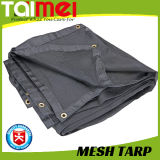Heavy Duty Polyethylene Mesh Black Tarp with UV Treated