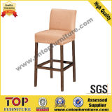 Modern Steel High Bar Stool
