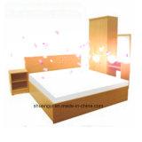 Beech Color Wood Material Modern Bedroom Sets