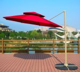 10FT Hanging Patio Sun Shade Outdoor Yard Market Umbrella (MP6015)