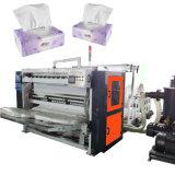 Drawn Tissue Napkin Paper Embossing Folding Making Machine