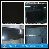 Polished Absolute Shanxi Black Granite Stone Flooring for Bathroom Tiles