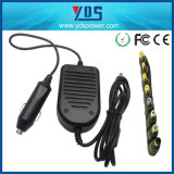 80W Universal Notebook Laptop Car Charger Adapter