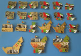 Magnetic Metal Pin for UAE 44th National Day