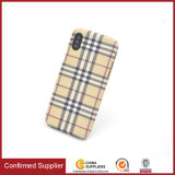 2017 Ultra-Thin Wholesale Tartan Design Watertransfer TPU Cell Phone Case